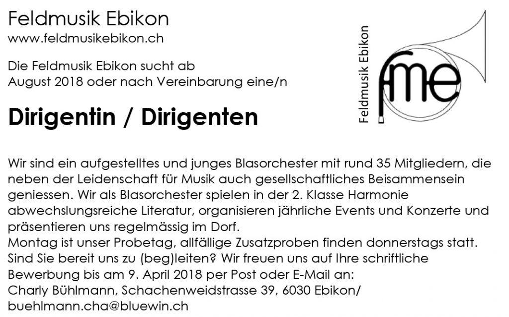 Feldmusik Ebikon