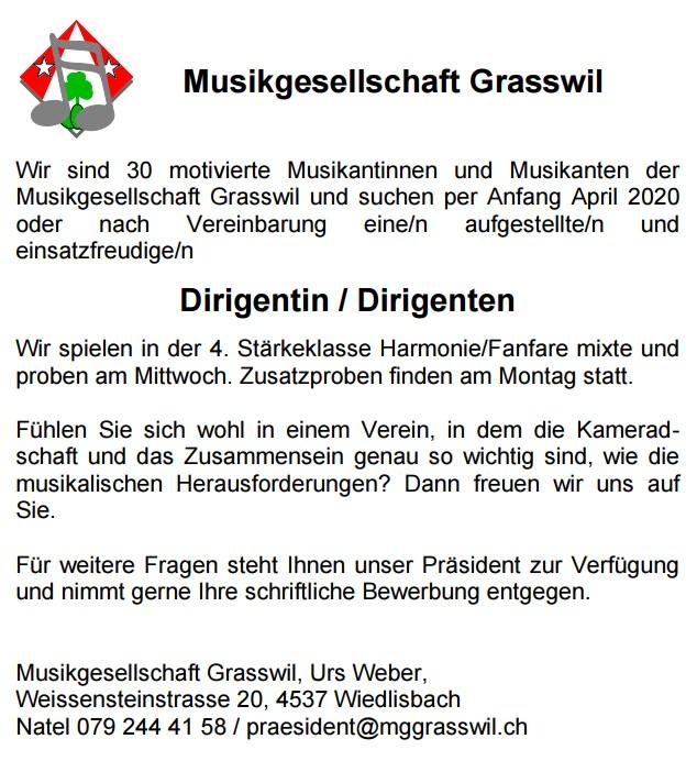Musikgesellschaft Grasswil