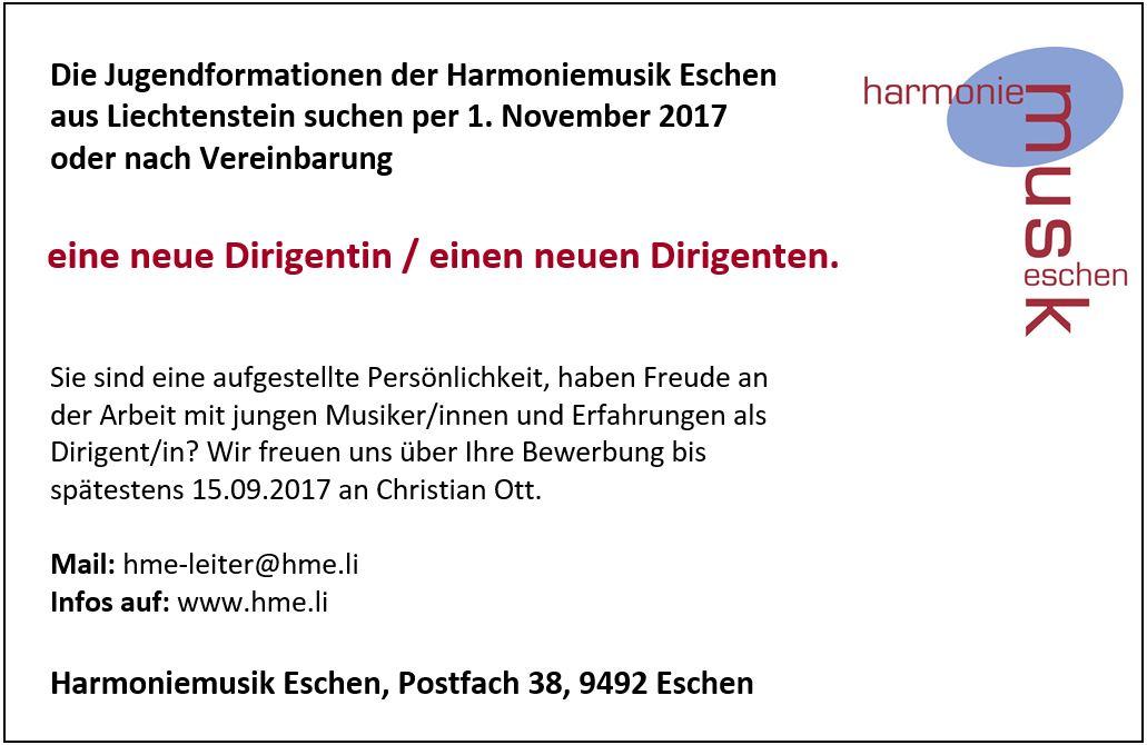 Jugendharmonie & Jugendensemble Eschen