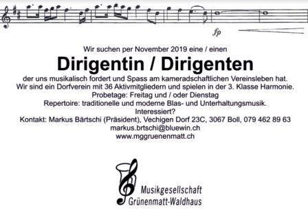 Musikgesellschaft Grünenmatt-Waldhaus