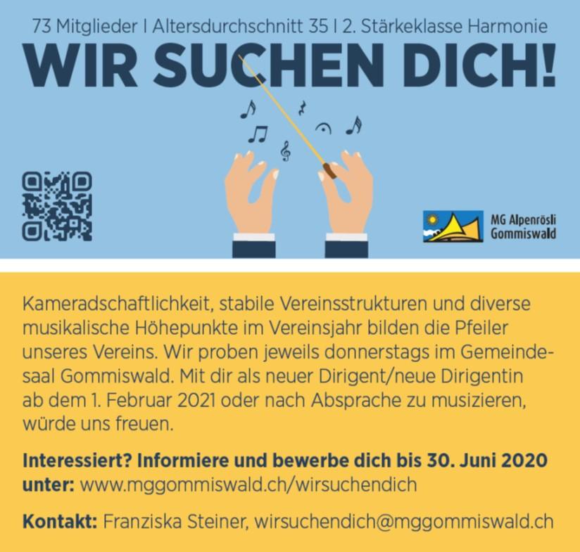 Musikgesellschaft Alpenrösli Gommiswald